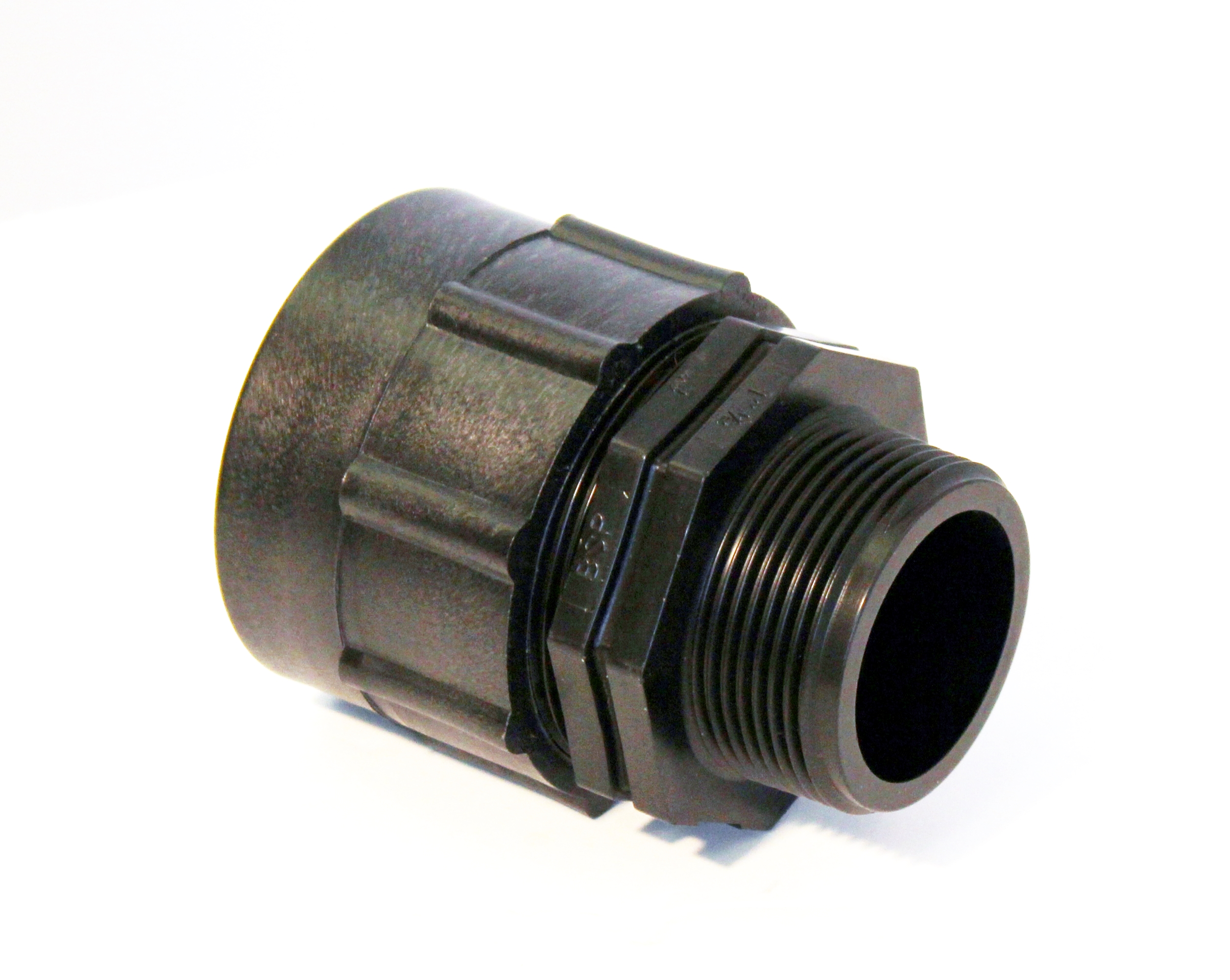 Ibc adapter fitting to quot bsp male thread storage tank